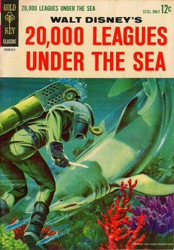 20000 LEAGUES UNDER THE SEA GOLD KEY(1964)
