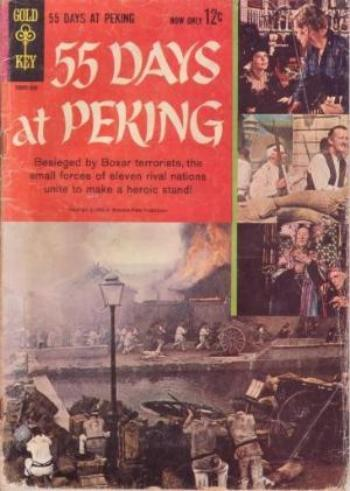 55 DAYS AT PEKING GOLD KEY 1963