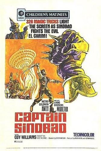 CAPTAIN SINDBAND FILM POSTER