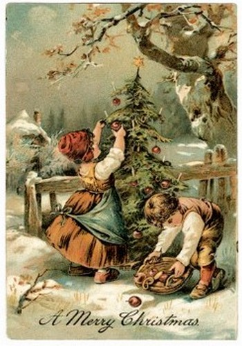 CT XMAS OLD CARD 12