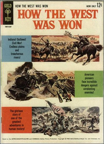 HOW THE WEST WAS WON GOLD KEY 1963