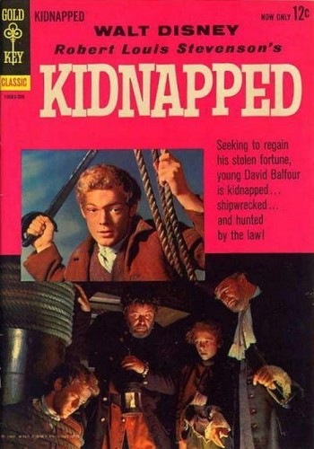KIDNAPPED GOLD KEY 1963