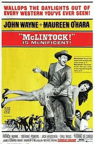 McLINTOCK FILM POSTER