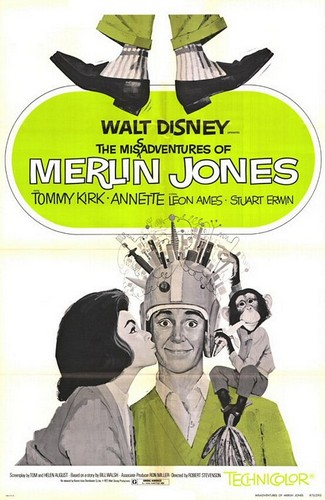 MERLIN JONES FILM POSTER