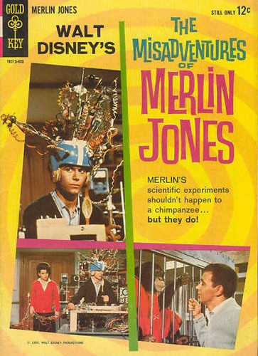 MERLIN JONES GOLD KEY 1(1964)