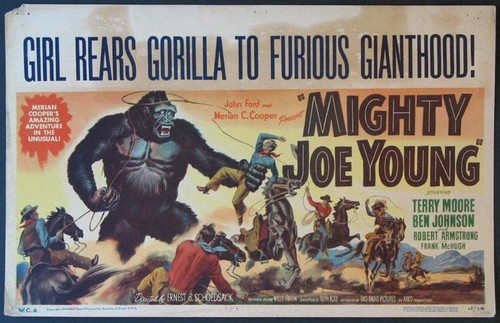 MIGHTY JOE YOUNG FILM POSTER 1