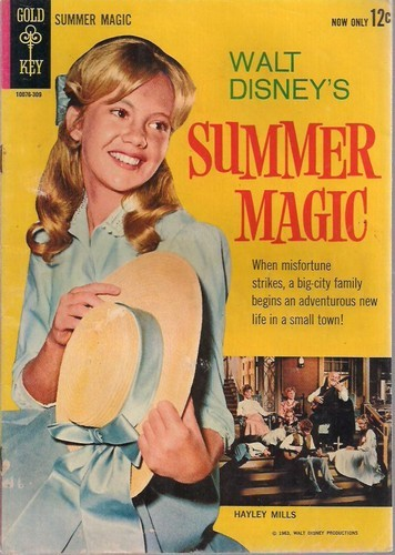 SUMMER MAGIC GOLD KEY 1963