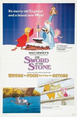 THE SWORD & THE STONE FILM POSTER