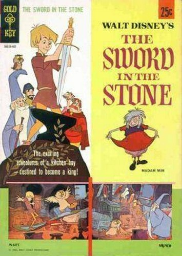 THE SWORD & THE STONE GOLD KEY(1964)