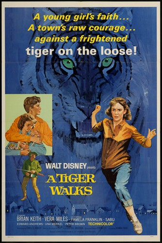TIGER WALKS FILM POSTER