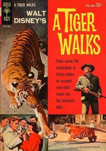 TIGER WALKS GOLD KEY(1964)