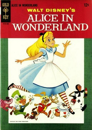 ALICE IN WONDERLAND GOLD KEY(1965)