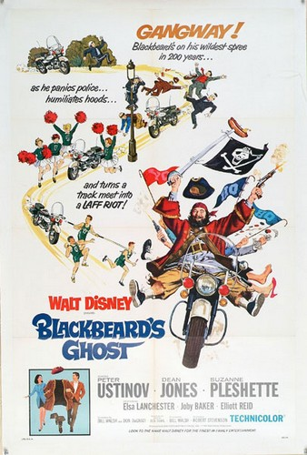 BLACKBEARDS GHOST FILM POSTER(1968)