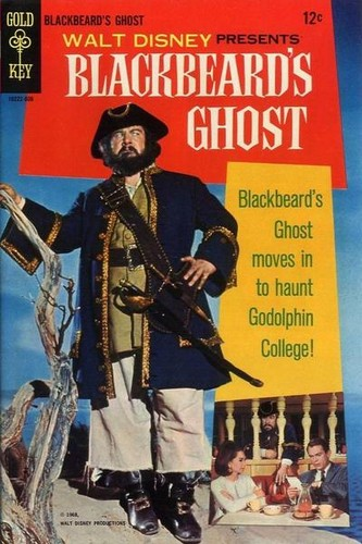 BLACKBEARDS GHOST GOLD KEY(1968)