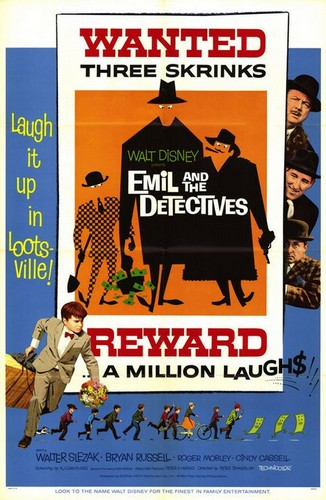 EMIL & THE DETECTIVES FILM POSTER