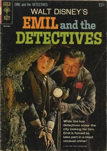 EMIL & THE DETECTIVES GOLD KEY(1965)