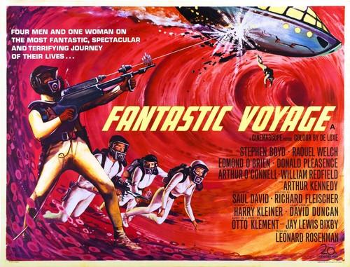 FANTASTIC VOYAGE FILM POSTER(1966)