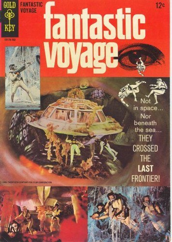 FANTASTIC VOYAGE GOLD KEY(1967)