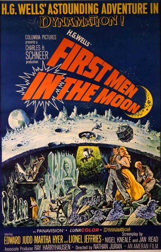 FIRST MEN ON THE MOON FILM POSTER