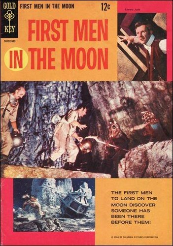 FIRST MEN ON THE MOON GOLD KEY(1965)