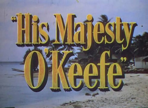 HIS MAJESTY O`KEEFE 9