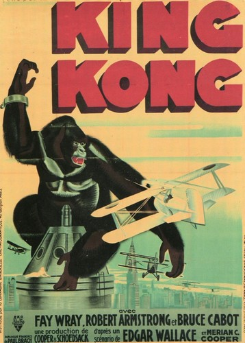 KING KONG FILM POSTER(1933)