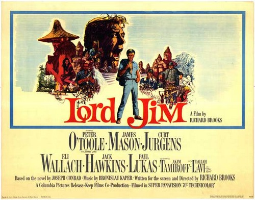 LORD JIM FILM POSTER(1965)