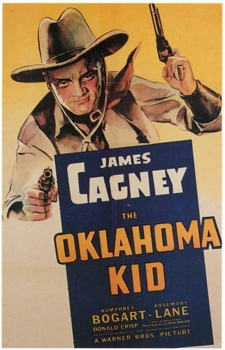 OKLAHOMA KID FILM POSTER(1939)