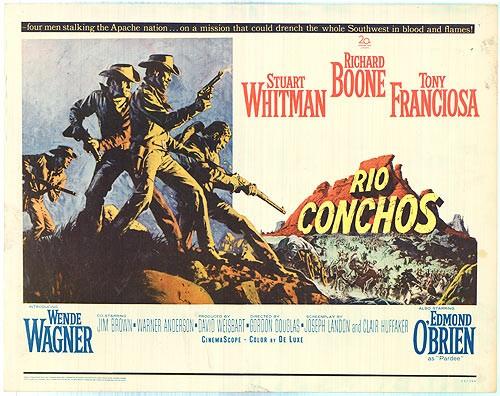 RIO CONCHOS FILM POSTER