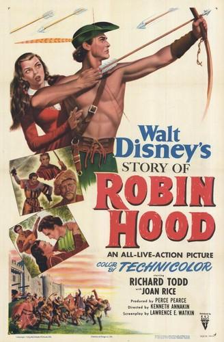 ROBIN HOOD FILM POSTER(1952)