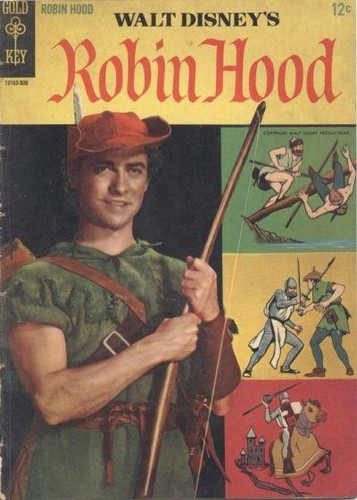 ROBIN HOOD GOLD KEY(1965)