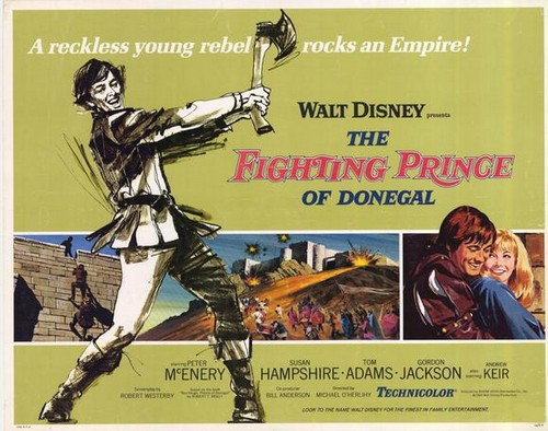 THE FIGHTING PRINCE OF DONEGAL FILM POSTER(1966)