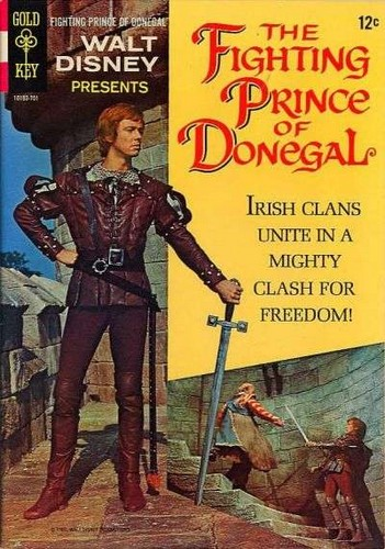 THE FIGHTING PRINCE OF DONEGAL GOLD KEY(1967)