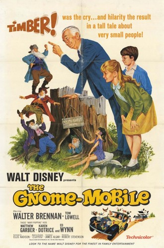 THE GNOME MOBILE FILM POSTER(1967)