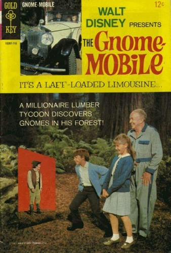 THE GNOME MOBILE GOLD KEY(1967)