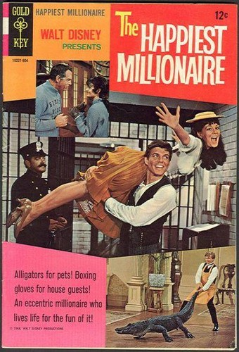 THE HAPPIEST MILLIONAIRE GOLD KEY(1967)