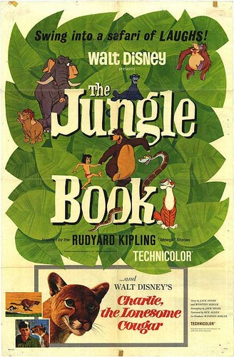 THE JUNGLE BOOK FILM POSTER(1967)