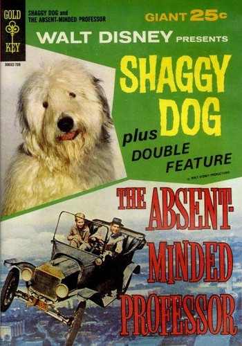 THE SHAGGY DOG GOLD KEY(1967)