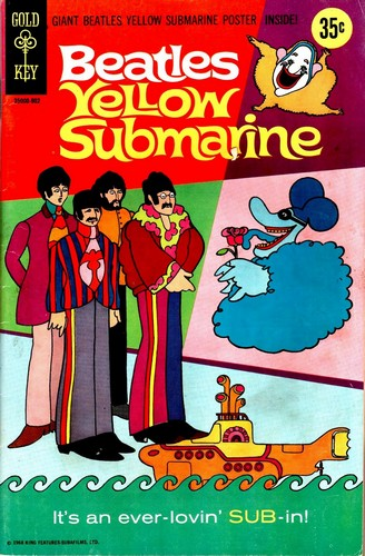 THE YELLOW SUBMARINE GOLD KEY(1968)
