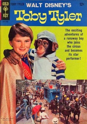 TOBY TYLER GOLD KEY(1965)