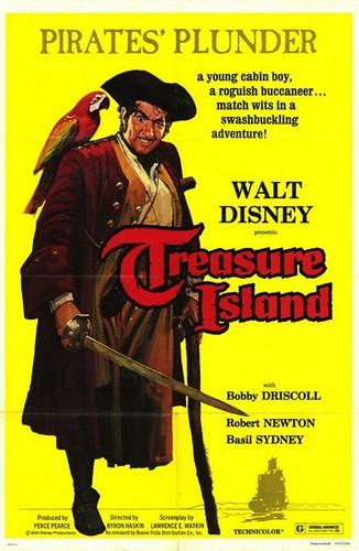 TREASURE ISLAND FILM POSTER
