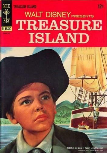 TREASURE ISLAND GOLD KEY(1965)
