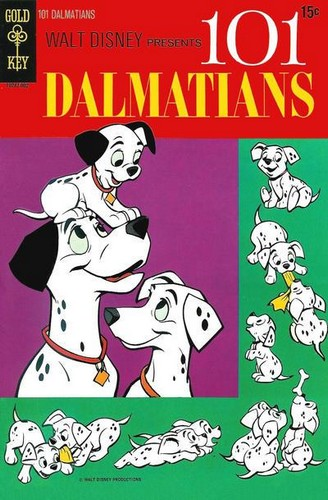 101 DALMATIANS GOLD KEY(1970)