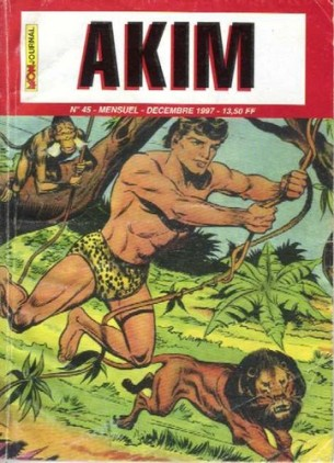 AKIM 45 FRANCE COVER