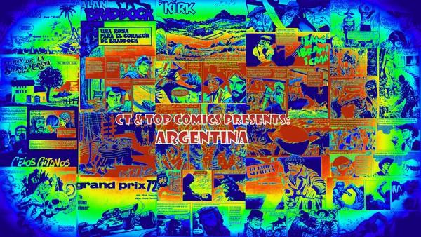 ARGENTINA COMICS ARTISTS COLLAGE 8.2