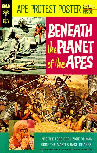 BENEATH THE PLANET OF THE APES GOLD KEY(1970)