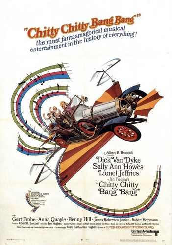 CHITTY CHITTY BANG BANG FILM POSTER