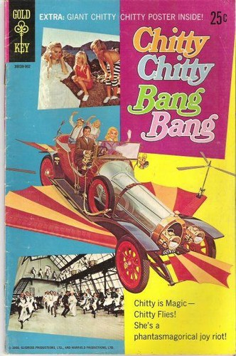 CHITTY CHITTY BANG BANG GOLD KEY(1969)