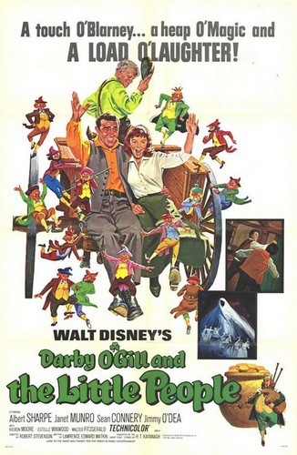 DARBY O`GILL & THE LITTLE PEOPLE FILM POSTER