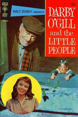 DARBY O`GILL & THE LITTLE PEOPLE GOLD KEY(1970)